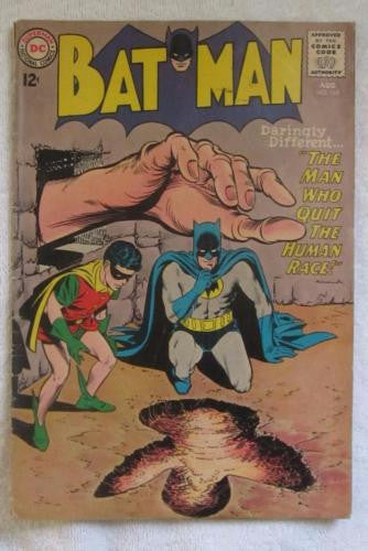 Batman #165 (Aug 1964, DC) Infantino pencils VG- 3.5