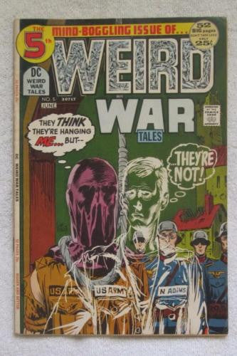 Weird War Tales #5 (May-Jun 1972, DC) Toth art Fine 6.0