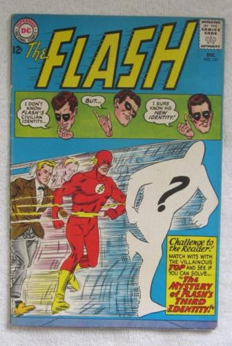 The Flash #141 (Dec 1963, DC) Infantino pencils VG 4.0