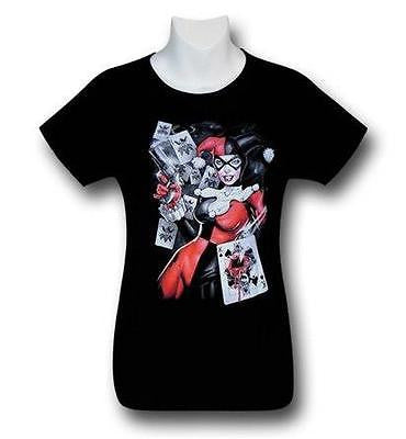 Harley Quinn Card Shot Women's T-Shirt S-M