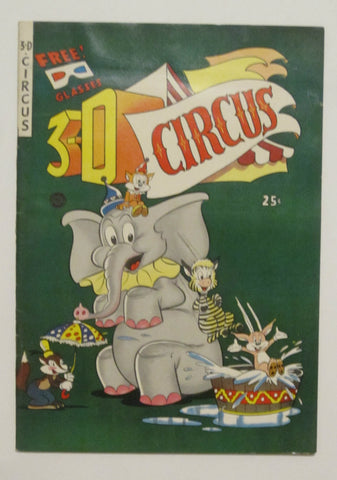 3-D Circus (1953, Fiction House) FN/VF 7.0