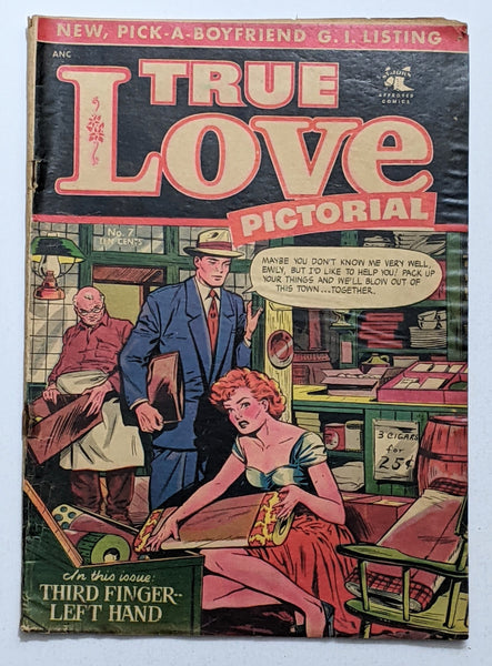True Love Pictorial #7 (Dec 1953, St. John) Good- 1.8 Matt Baker cover.