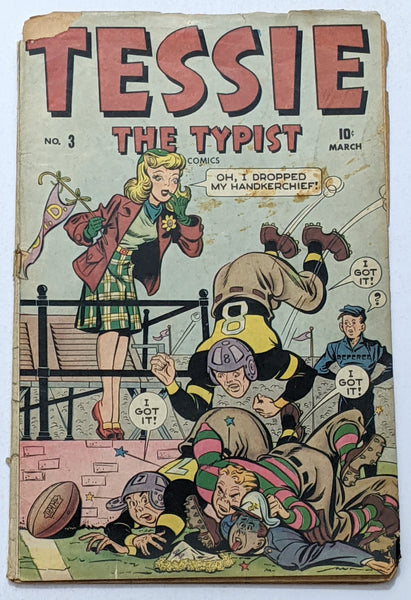 Tessie The Typist #3 (Mar 1944, Timely) Fair/Good 1.5