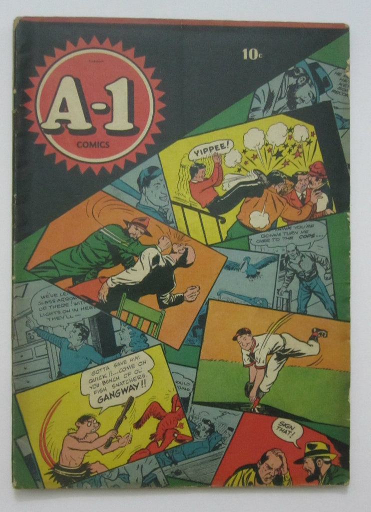 A-1 Comics #2 (Jan 1946, Magazine Enterprises) VG 4.0