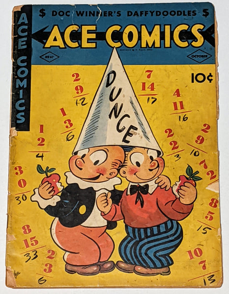 Ace Comics #67 (Oct 1942, David McKay) Fair/Good 1.5 Joe Musial cover