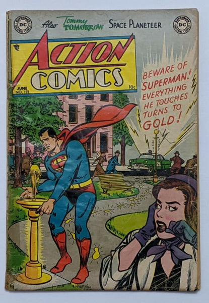Action Comics #193 (Jun 1954, DC) Good- 1.8 Henry Boltinoff art