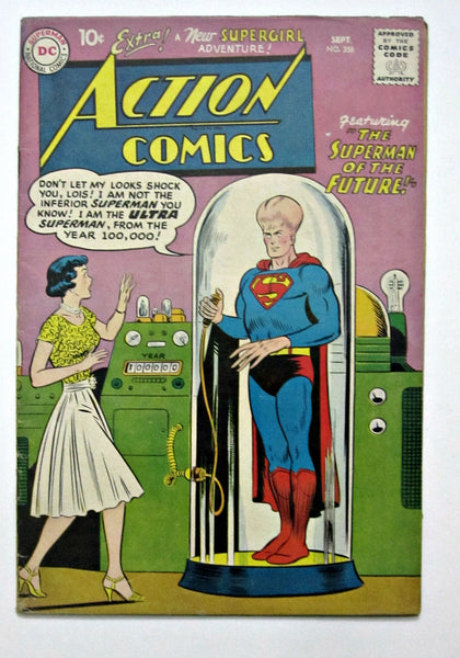 Action Comics #256 (Sep 1959, DC) FN 6.0