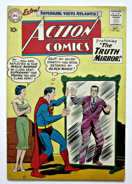 Action Comics #269 (Oct 1960, DC) FN+ 6.5