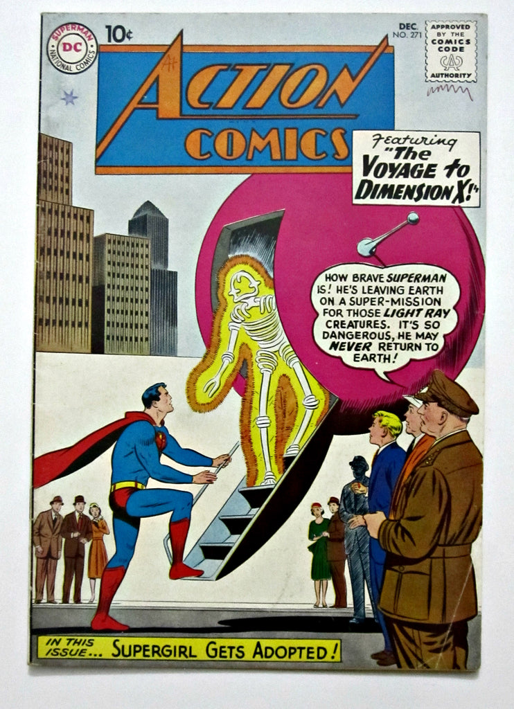 Action Comics #271 (Dec 1960, DC) FN+ 6.5