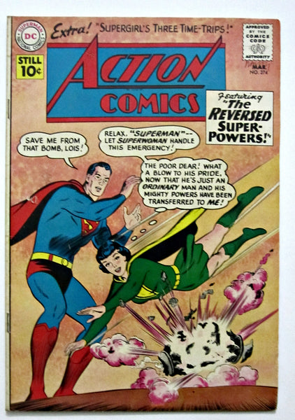 Action Comics #274 (Mar 1961, DC) VG 4.0