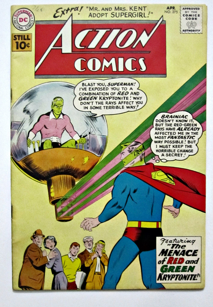 Action Comics #275 (Apr 1961, DC) FN+ 6.5