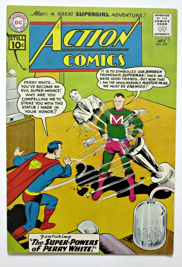 Action Comics #278 (Jul 1961, DC) FN+ 6.5