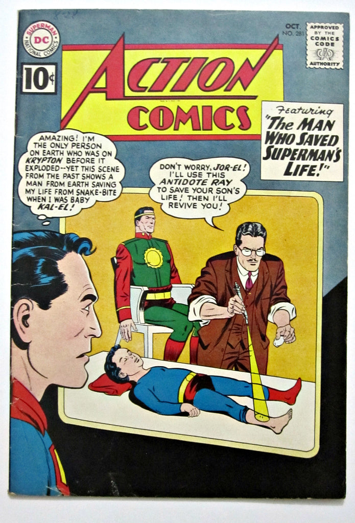 Action Comics #281 (Oct1961, DC) VG/FN 5.0