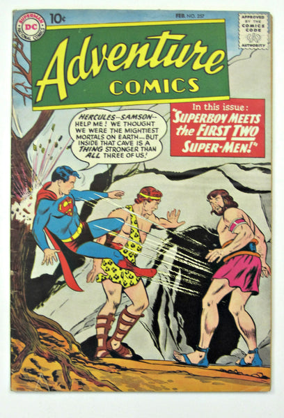 Adventure Comics #257 (Feb 1959, DC Superman) G/VG 3.0