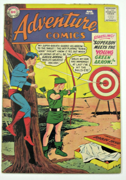 Adventure Comics #258 (Mar 1959, DC Superman) G/VG 3.0