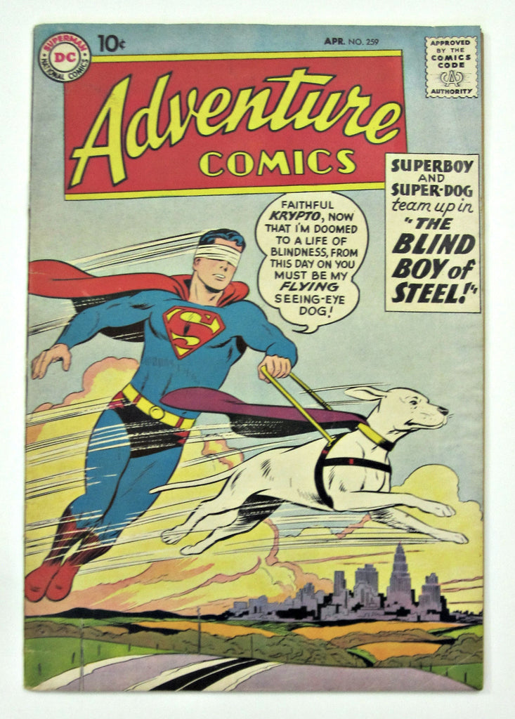 Adventure Comics #259 (Apr 1959, DC Superman) VG 4.0