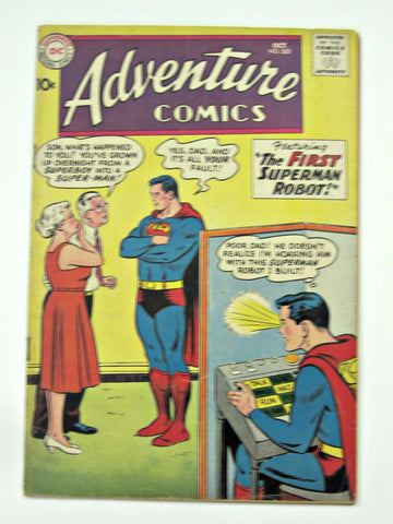 Adventure Comics #265 (Oct 1959, DC Superman) VG 4.0