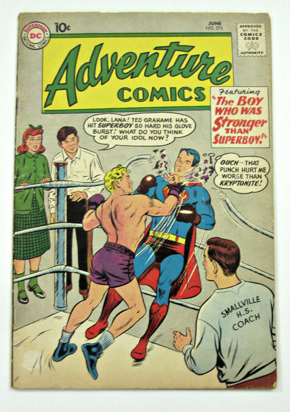 Adventure #273 (Jun 1959, DC Superman) VG- 3.5