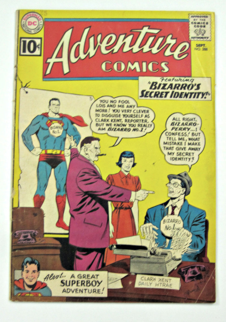 Adventure Comics #288 (Sept 1961, DC Superman) Good 2.0