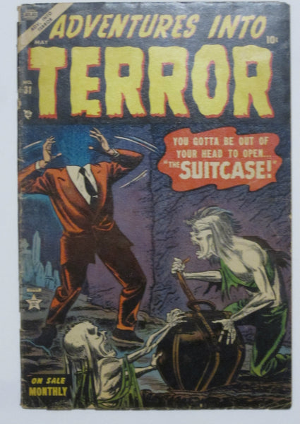 Adventures Into Terror #31 (May 1954, Atlas) G/VG 3.0