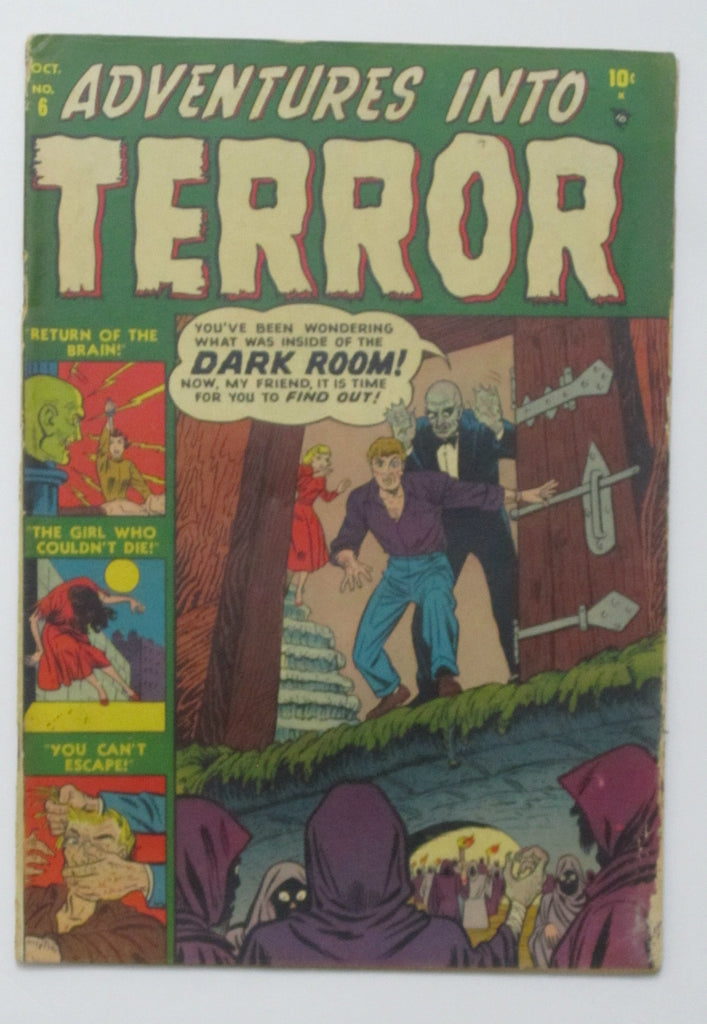 Adventures Into Terror #6 (Oct 1951, Atlas) G/VG 3.0