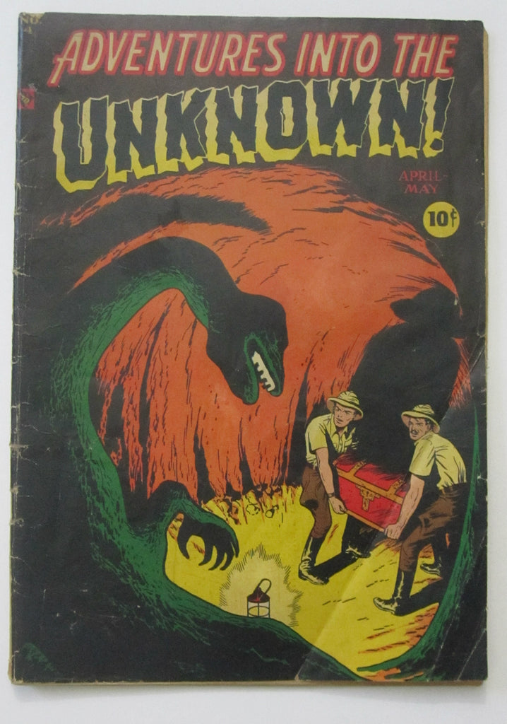 Adventures Into The Unknown #4 (Apr-May 1949, ACG) G/VG 3.0