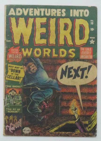 Adventures Into Weird Worlds #10 (Sep 1952, Atlas) Good 2.0