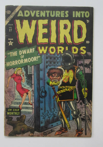Adventures Into Weird Worlds #27 (Mar 1953, Atlas) VG- 3.5