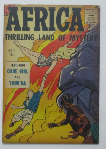 Africa #1 (1955, Magazine Ent.) VG/FN 5.0