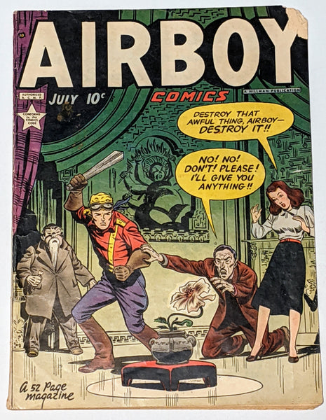 Airboy Comics Vol. 6 No. 6 (Jul 1949, Hillman) Fair/Good 1.5