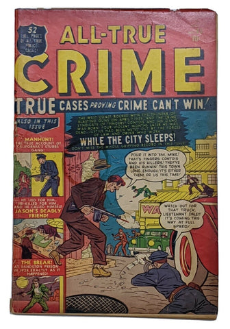 All True Crime #45 (Jul 1951, Atlas) G/VG 3.0