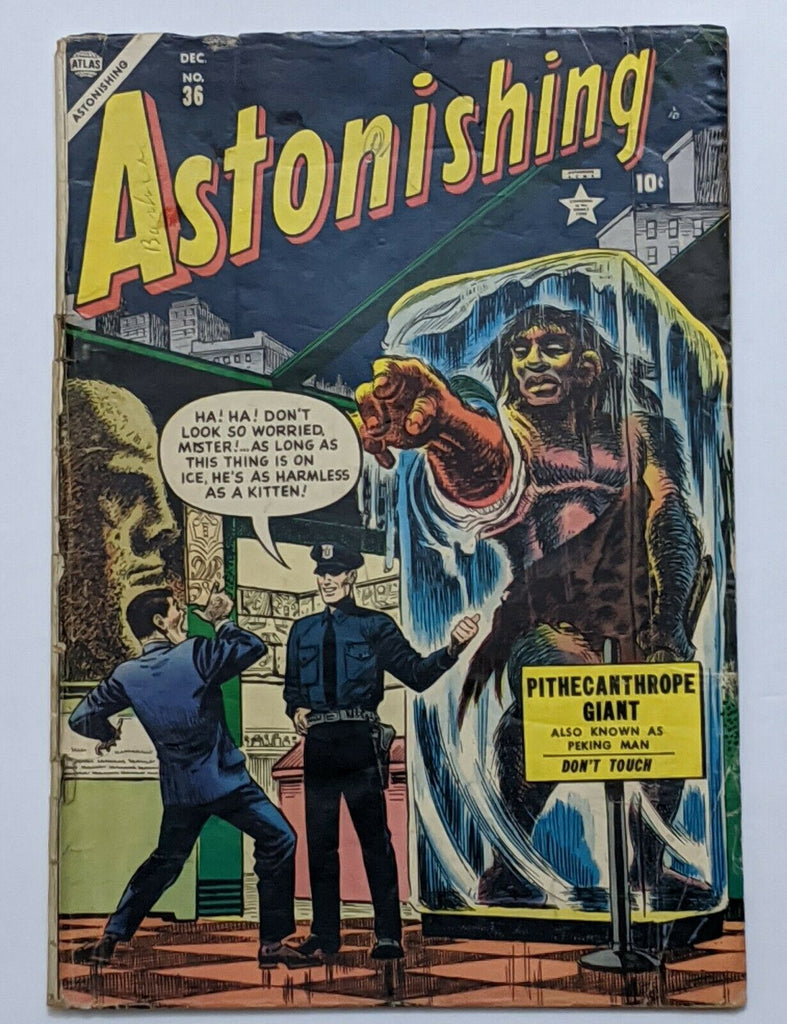 Astonishing #36 (Dec 1954, Atlas) Good 2.0 Carl Burgos cvr Dave Berg art