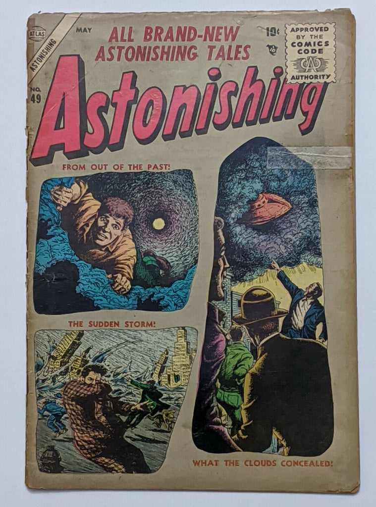 Astonishing #49 (May 1956, Atlas) Fair/Good 1.5 Bill Everett cover