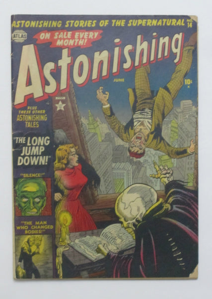 Astonishing #14 (Jun 1952, Atlas) VG 4.0