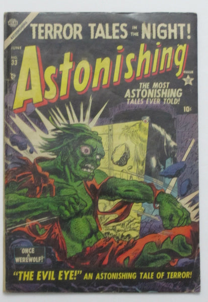 Astonishing #33 (Jun 1954, Atlas) VG 4.0