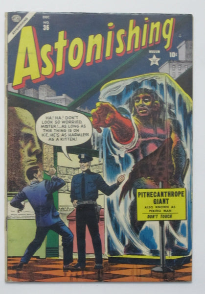 Astonishing #36 (Dec 1954, Atlas) FN- 5.5