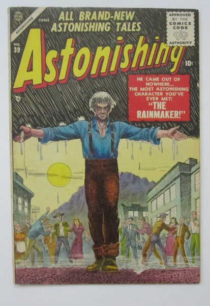 Astonishing #39 (Jun 1955, Atlas) Carl Burgos cvr VG+ 4.5