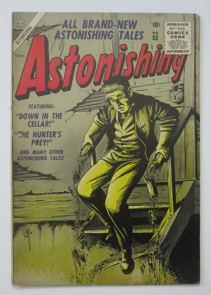 Astonishing #53 (Sep 1956, Atlas) Bill Everett cvr FN- 5.5