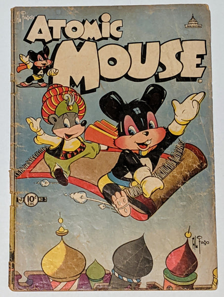 Atomic Mouse #3 (Jul 1953, Charlton) Good 2.0 Al Fago cover