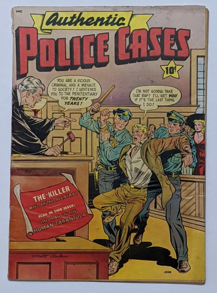 Authentic Police Cases #13 (May 1951, St. John) G/VG 3.0 Matt Baker cover