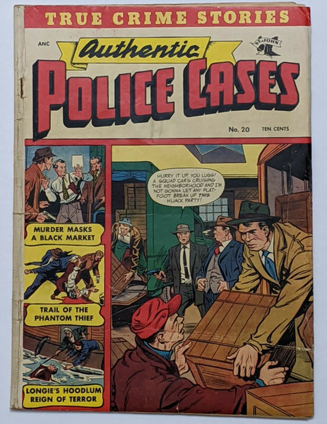 Authentic Police Cases #20 (Aug 1952, St. John) Good 2.0 Matt Baker cover
