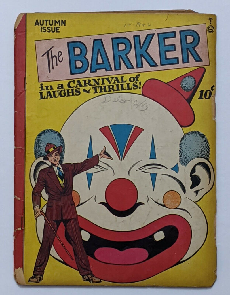 The Barker #1 (Autumn 1946, Quality) Good 2.0