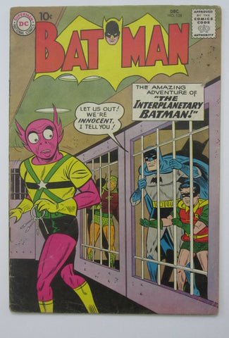 Batman #128 (Dec 1959, DC) VG/FN 5.0