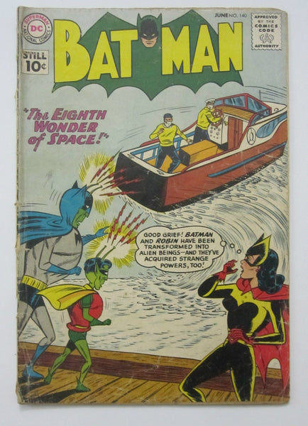 Batman #140 (Jun 1961, DC) Good- 1.8