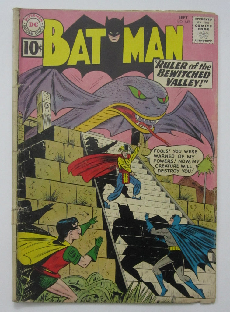 Batman #142 (Sept 1961, DC) Good- 1.8