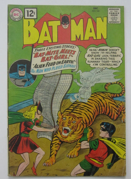 Batman #144 (Dec 1961, DC) VG 4.0