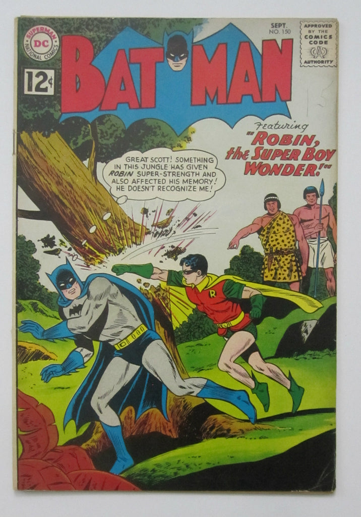 Batman #150 (Sept 1962, DC) Good 2.0