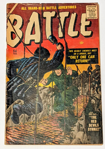 Battle #56 (Feb 1958, Atlas) Good 2.0 Bill Everett cover