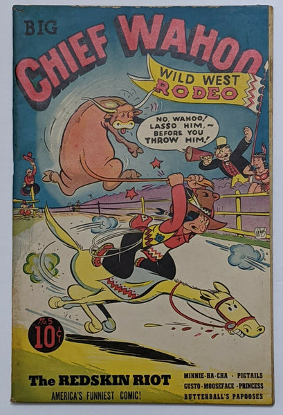 Big Chief Wahoo #5 (1943 Eastern) VG+