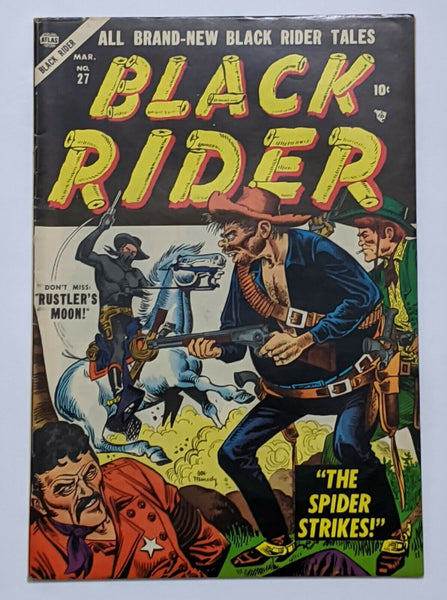 Black Rider #27 (Mar 1955, Atlas) FN 6.0 Joe Maneely cvr